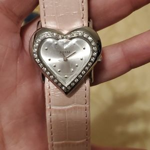 Ladies Heart Guess Watch (NWOT)